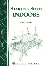 Cover of: Starting Seeds Indoors