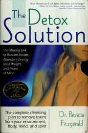 Cover of: The detox solution