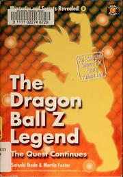 Cover of: The Dragon Ball Z legend