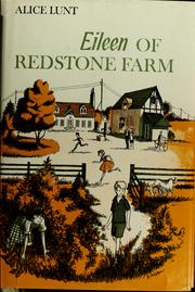 Cover of: Eileen of Redstone Farm | Alice Lunt
