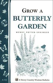 Cover of: Grow a butterfly garden