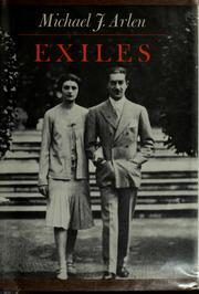 Cover of: Exiles | Michael J. Arlen