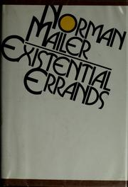 Cover of: Existential errands | Norman Mailer