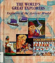 Cover of: Explorers of the ancient world