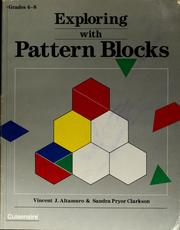 Cover of: Exploring with pattern blocks
