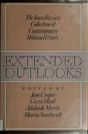 Cover of: Extended outlooks