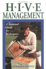 Hive management by Richard E. Bonney