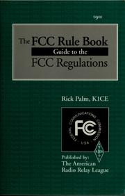 Cover of: The FCC rule book