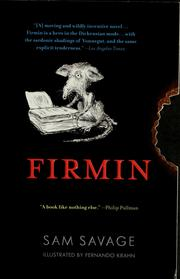 Cover of: Firmin | Sam Savage