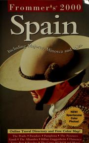 Cover of: Frommer's 2000 Spain
