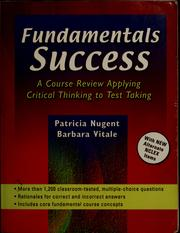 Cover of: Fundamentals success | Patricia Mary Nugent
