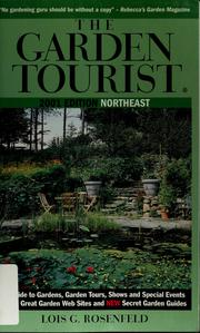 Cover of: The garden tourist, 2001
