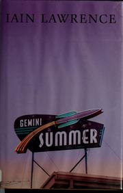 Cover of: Gemini summer