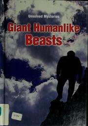 Cover of: Giant humanlike beasts