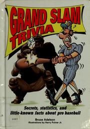 Cover of: Grand slam trivia