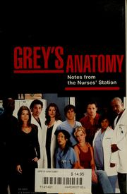 Cover of: Grey's anatomy