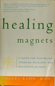 Cover of: Healing magnets