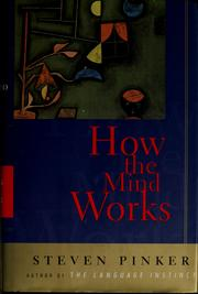 Cover of: How the mind works