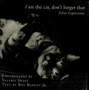 Cover of: I am the cat, don