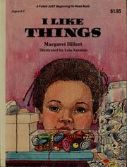 Cover of: I like things