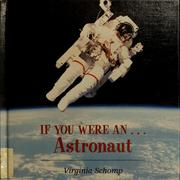 Cover of: If you were an-- astronaut