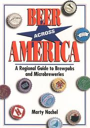 Cover of: Beer across America by Marty Nachel