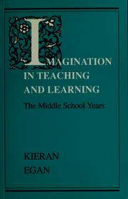Cover of: Imagination in teaching and learning