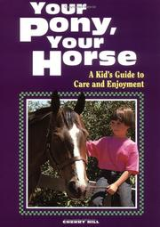 Cover of: Your pony, your horse