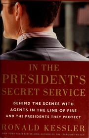Cover of: In the president's secret service