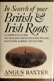 Cover of: In search of your British & Irish roots