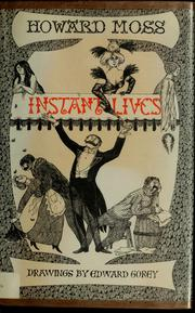 Cover of: Instant Lives