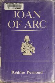 Cover of: Joan of Arc by herself and her witnesses
