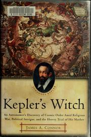 Cover of: Kepler's witch