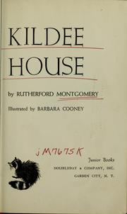 Cover of: Kildee house