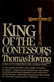 Cover of: King of the confessors | Thomas Hoving