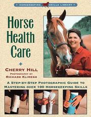 Cover of: Horse health care