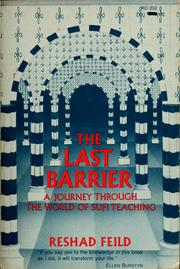 The last barrier by Reshad Feild