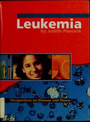 Cover of: Leukemia
