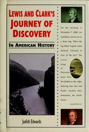 Cover of: Lewis and Clark's journey of discovery in American history