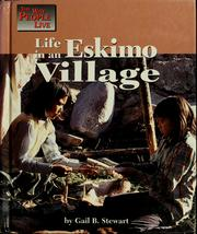 Life in an Eskimo village by Gail B. Stewart