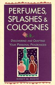 Cover of: PERFUMES, SPLASHES AND COLOGNES