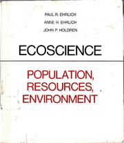 Cover of: Ecoscience: Population, Resources, Environment