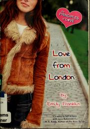 Cover of: Love from London