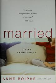 Cover of: Married