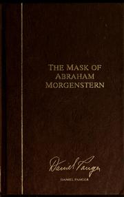 Cover of: The mask of Abraham Morgenstern | Daniel Panger