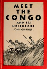 Cover of: Meet the Congo and its neighbors