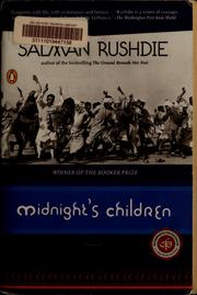 Cover of: Midnight's children: a novel