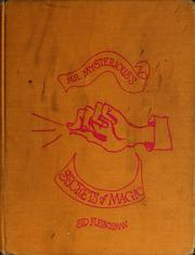 Cover of: Mr. Mysterious's secrets of magic