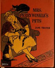 Cover of: Mrs. Perrywinkle