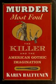 Cover of: Murder most foul